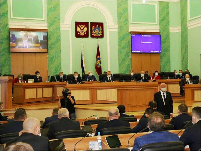 Восемь заместителей губернатора утверждены на заседании Брянской областной Думы