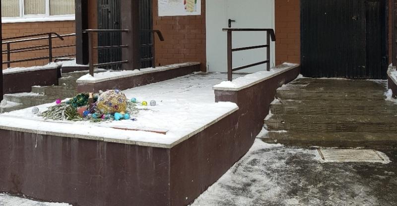 Брянские вандалы лишили новогоднего настроения жителей города