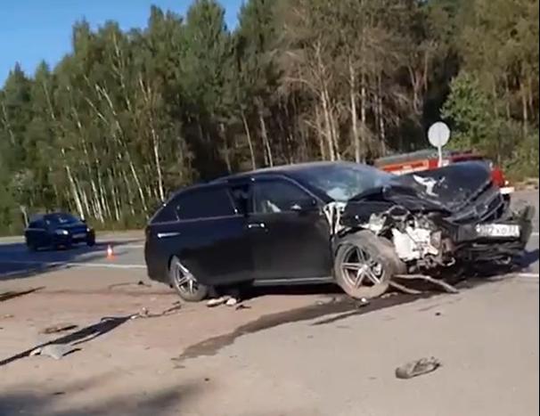 На трассе М-3 «Украина» в Навлинском районе разбились три легковых автомобиля
