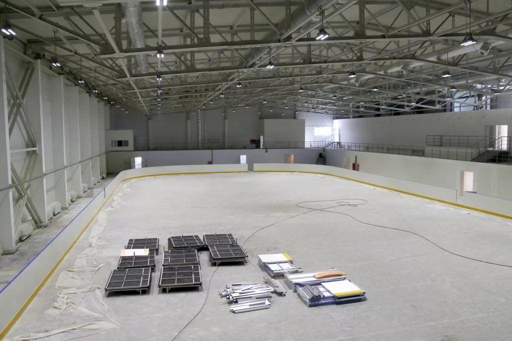 Ледовый дворец в городе Жуковке планируют сдать к июлю