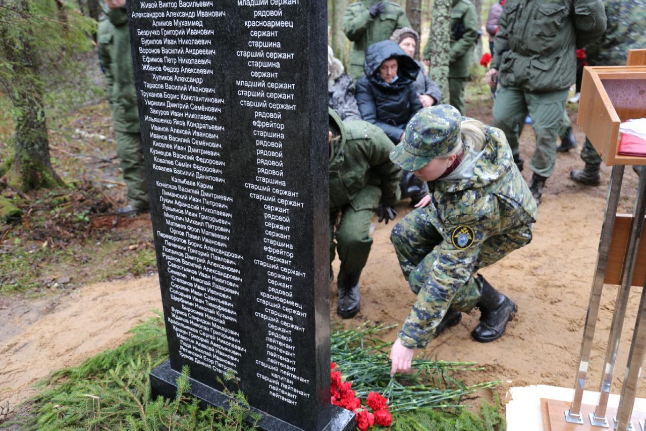 В Клинцовском районе Брянской области прошла уборка на захоронениях воинов