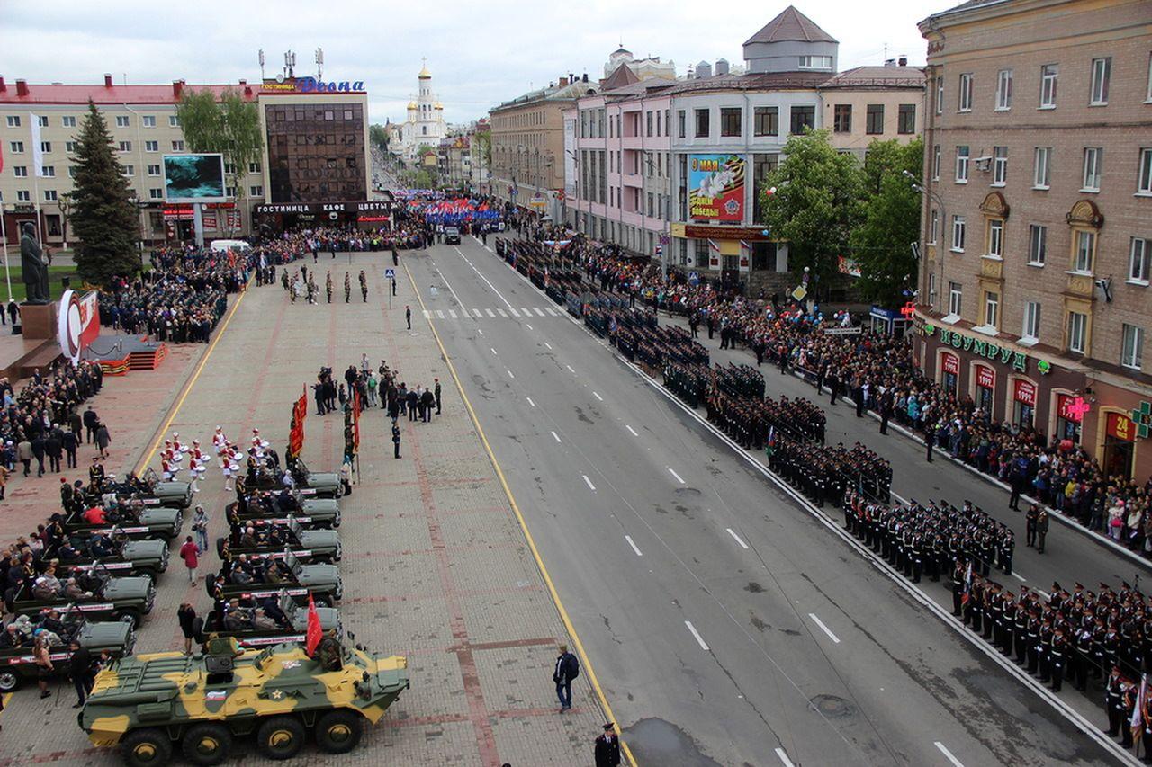 В День Победы в Брянске будет +14 градусов и небольшой дождь