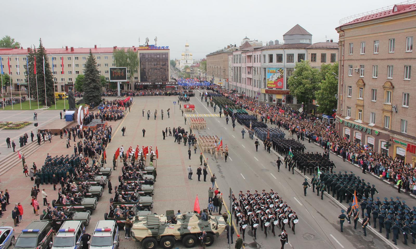 Жители Брянской области смогут посмотреть трансляцию марша Победы в прямом эфире
