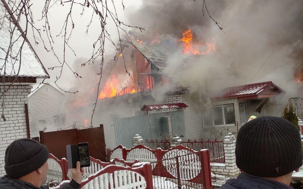 На Брянщине за сутки случилось восемь пожаров