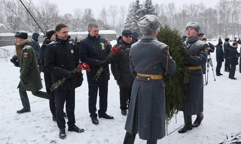 Богомаз почтил память жертв ленинградской блокады