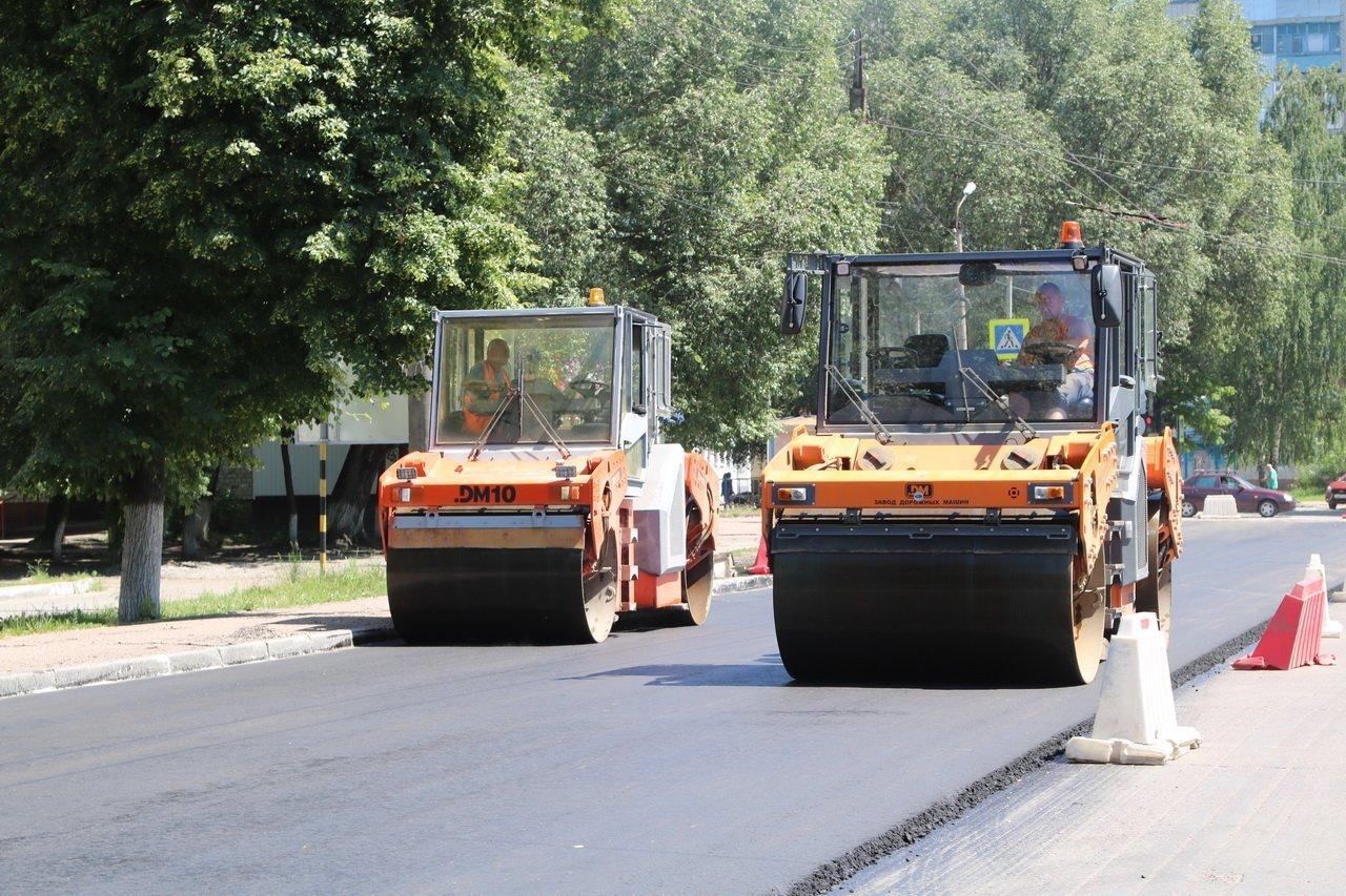 В Брянской области в рамках нацпроекта ведется ремонт дорог и строительство мостов