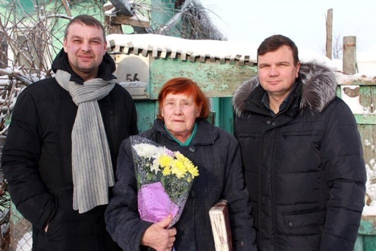 В Брянской области навестили блокадников