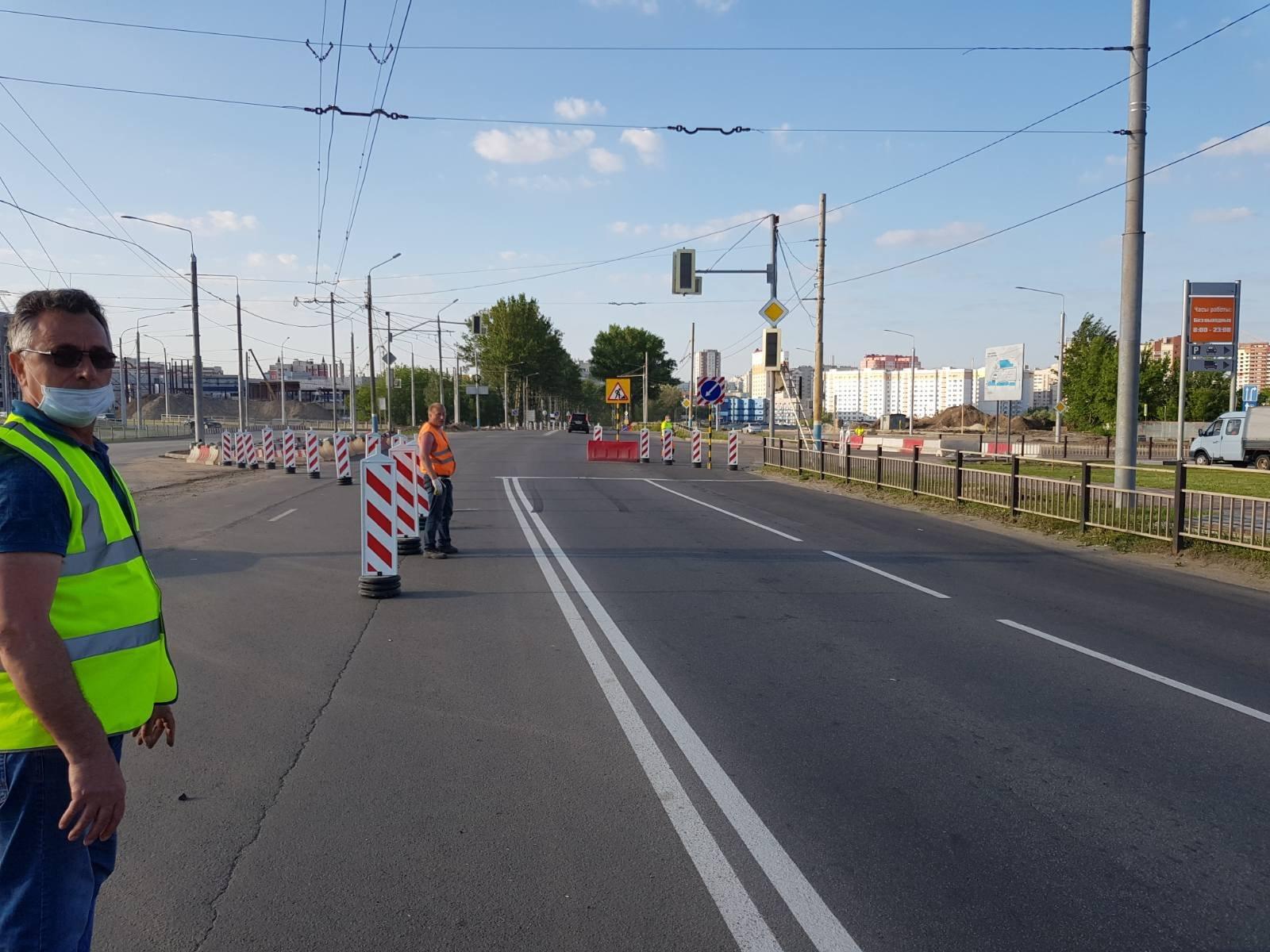 В Советском районе улицу Объездную расширят с четырех до шести полос