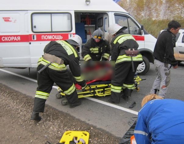 В ДТП в Брянском районе пострадали четыре человека