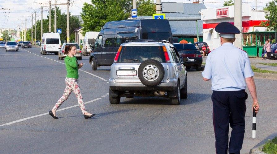 В Брянске сотрудники ГИБДД устроят охоту на пешеходов-нарушителей