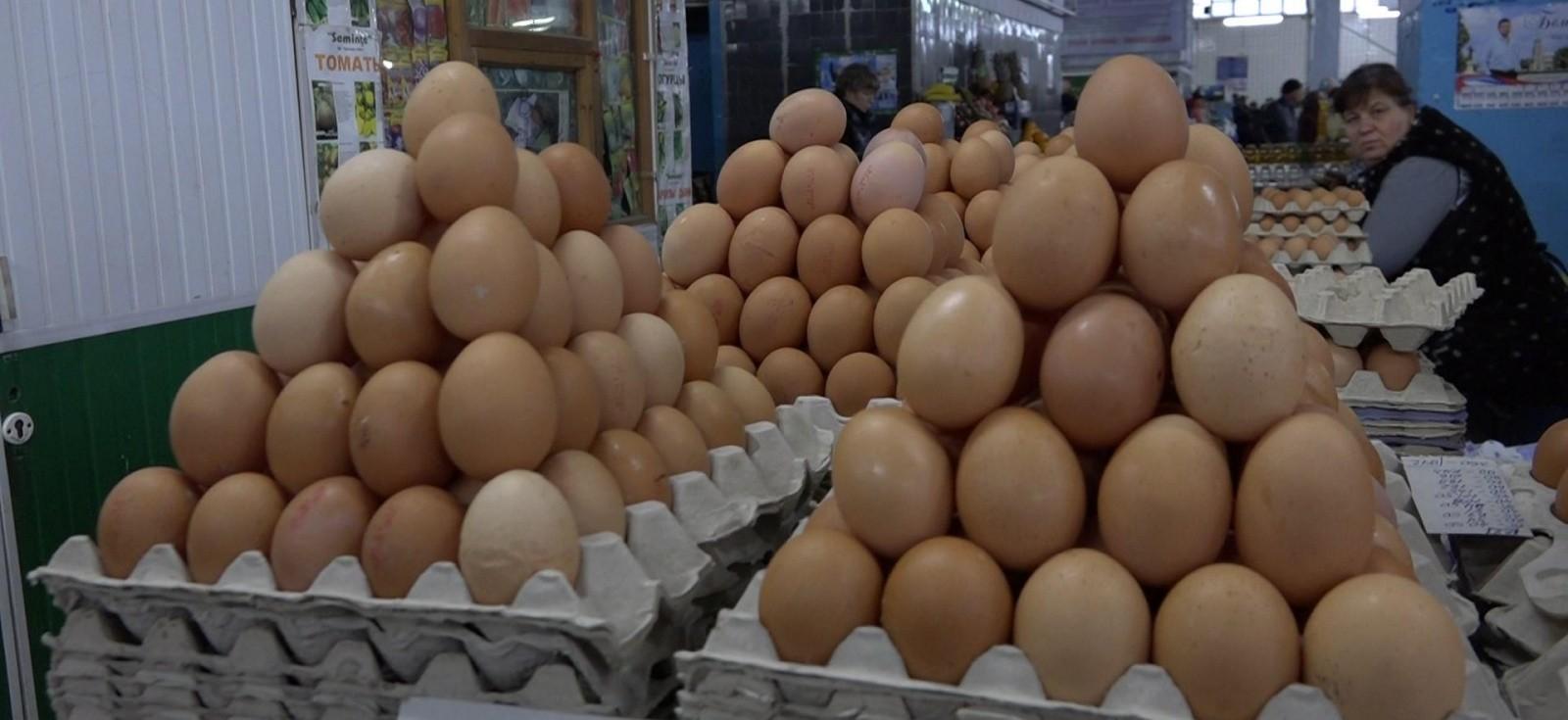 За месяц в Брянской области стоимость десятка яиц увеличилась на 6,9%