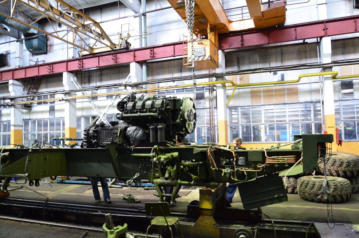 Брянский автомобильный завод на международном салоне показал новый автомобиль
