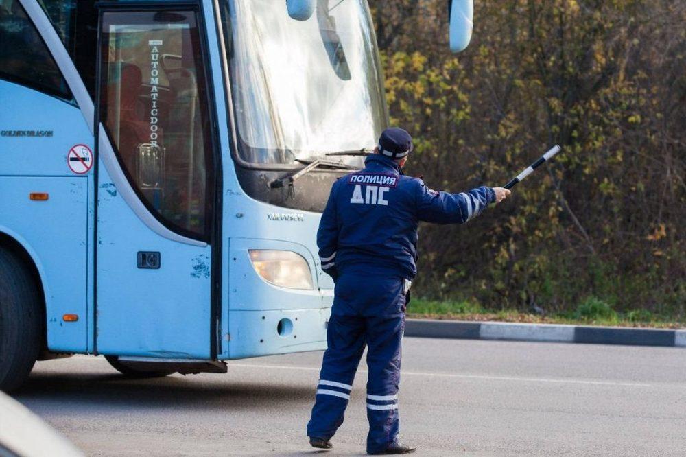 В Брянской области сотрудники ГИБДД проверят водителей автобусов