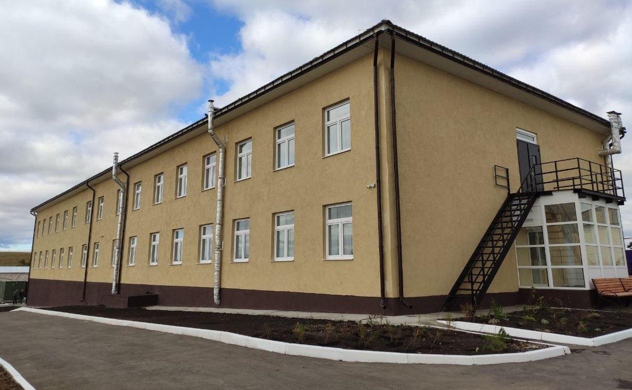 Провели модернизацию Брасовской районной больницы в Брянской области