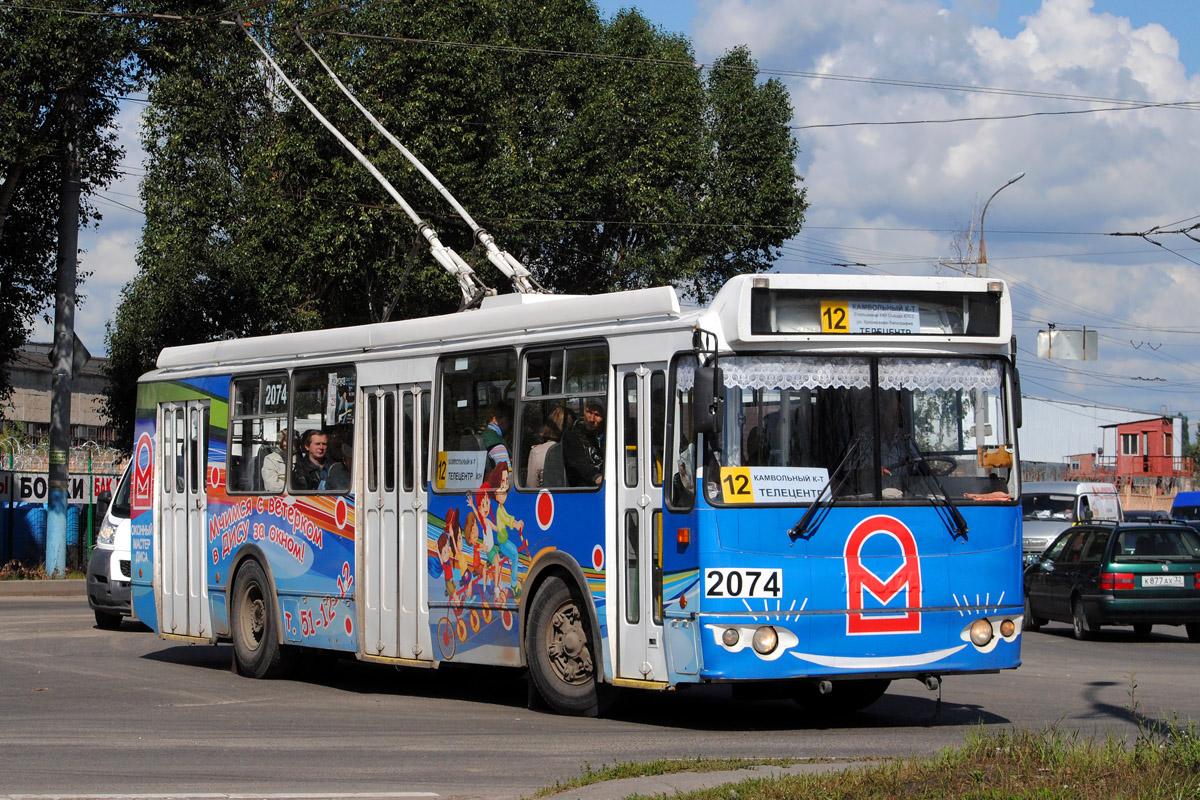 В Брянске автобусами временно заменили троллейбусы №12