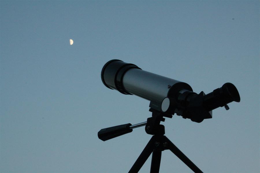 В Брянске установили телескоп для наблюдения за кольцевым солнечным затмением
