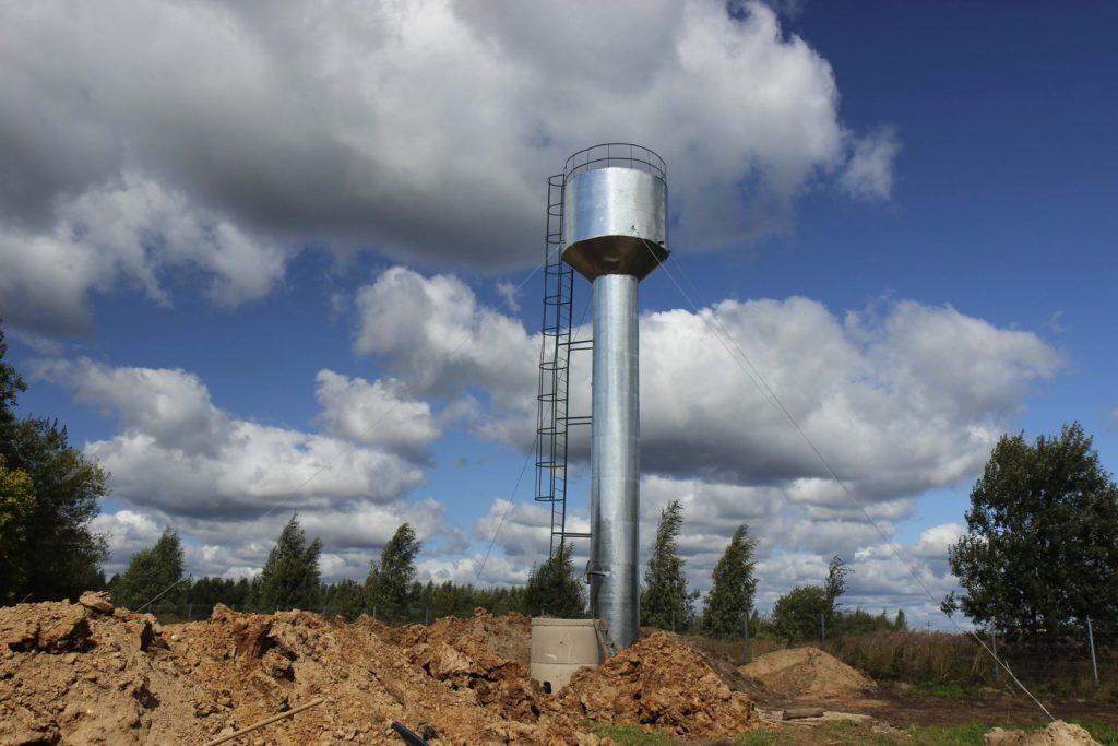 В деревне в Клетнянском районе отремонтировали систему водоснабжения
