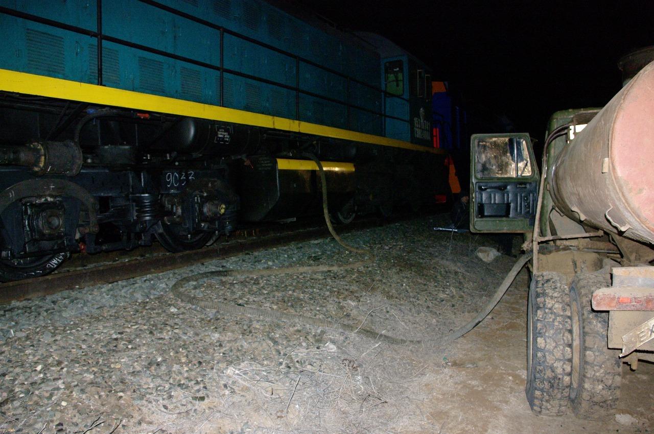 В лесополосе в Погаре железнодорожники украли 300 литров топлива