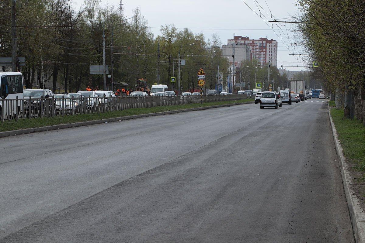 В Советском районе продолжается капитальный ремонт проспекта Станке Димитрова