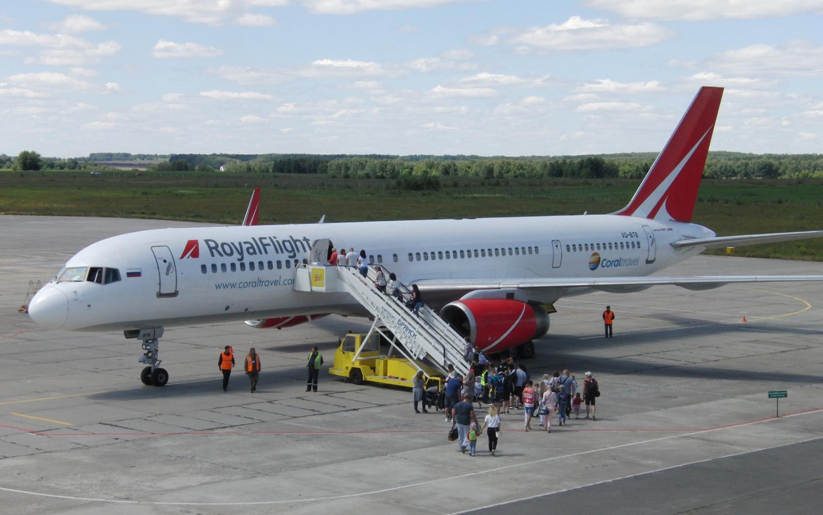 Полеты из Брянска в Турцию возобновят с 27 июля