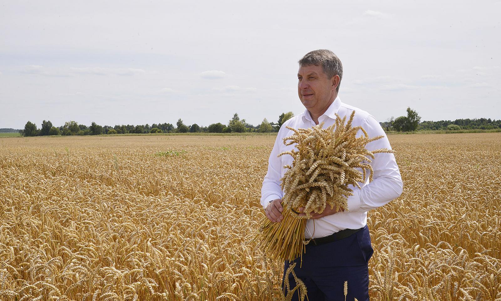 Губернатор Богомаз сильно удивил немцев брянскими урожаями