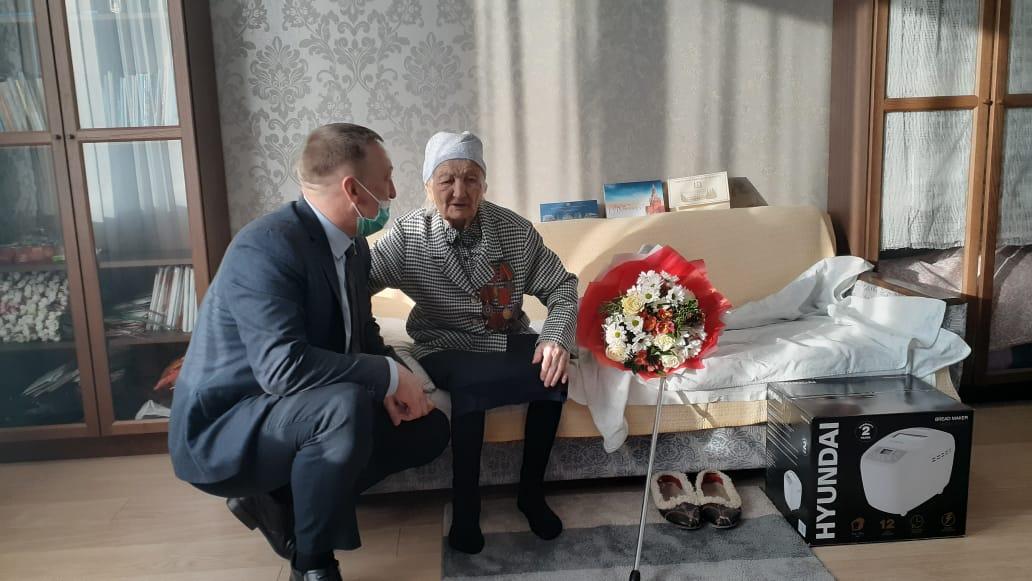 Старейшейжительнице Брянской области исполнилось 106 лет