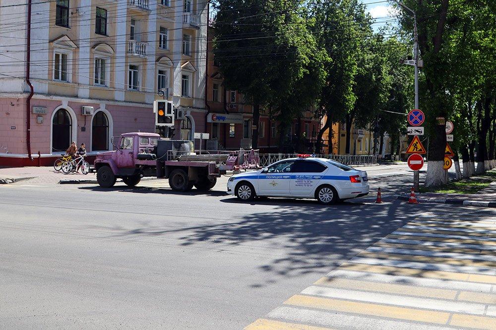 В Брянске завершили ремонт асфальта на улице Горького