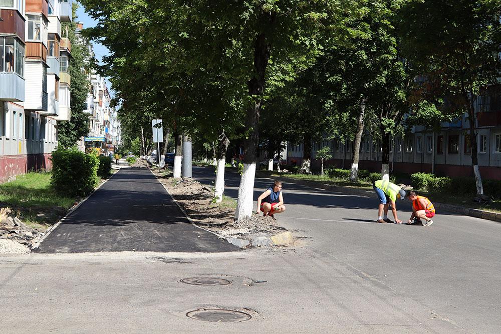 В Володарском районе начался основной этап ремонта улицы Димитрова