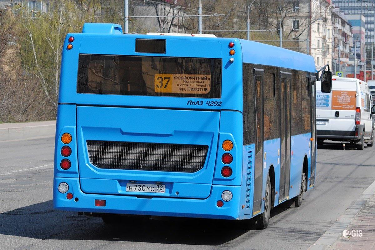 В Брянске из сервиса «Умный транспорт» удалили автобусы №37 и №31