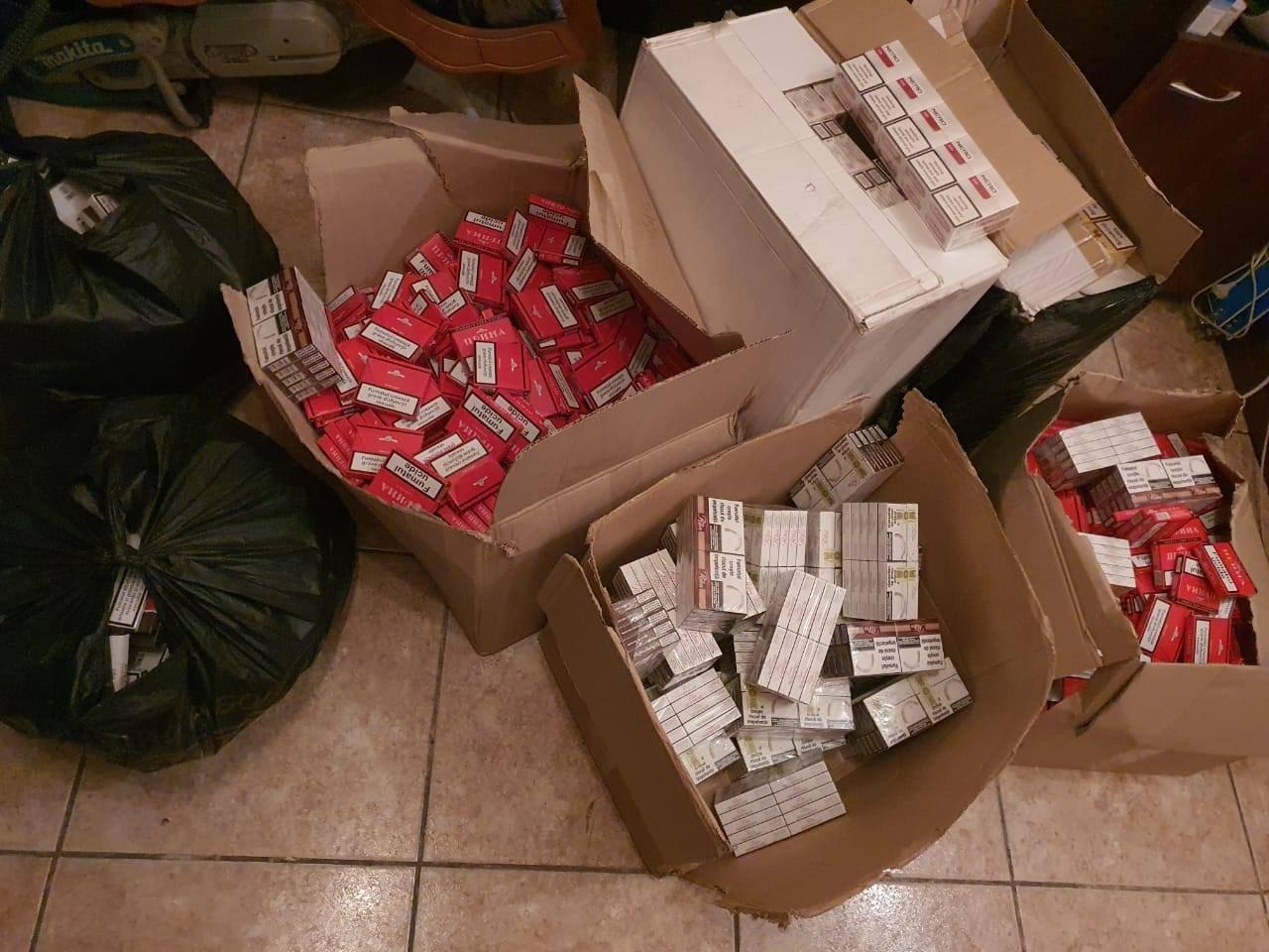 Более 3 миллионов пачек контрафактных сигарет изъяли брянские полицейские из оборота