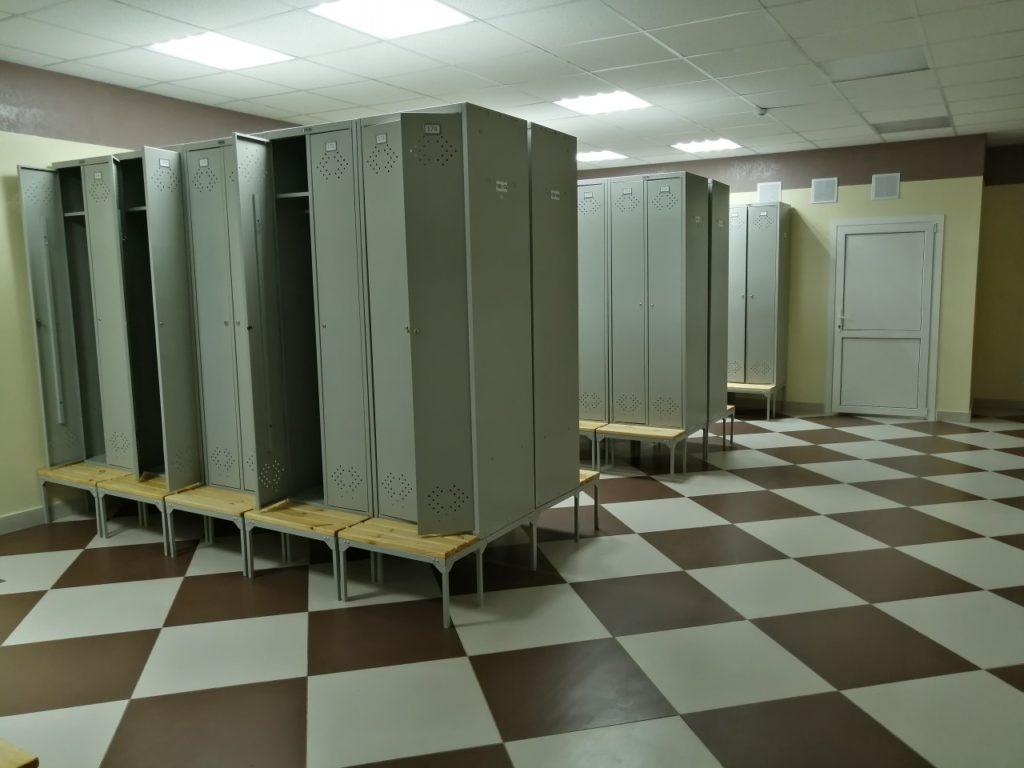 В Унече на стадионе «Локомотив» оборудуют душевые и раздевалки