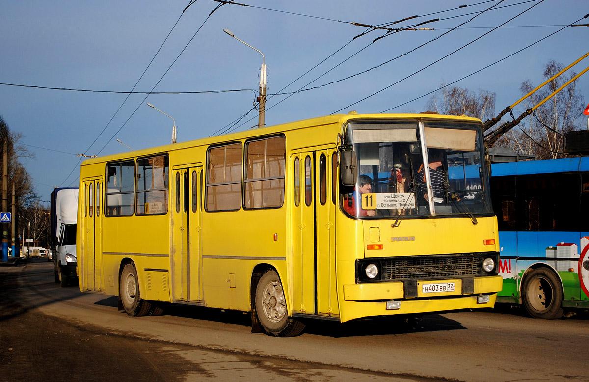 В Брянске по будням изменится расписание утренних рейсов автобуса №11