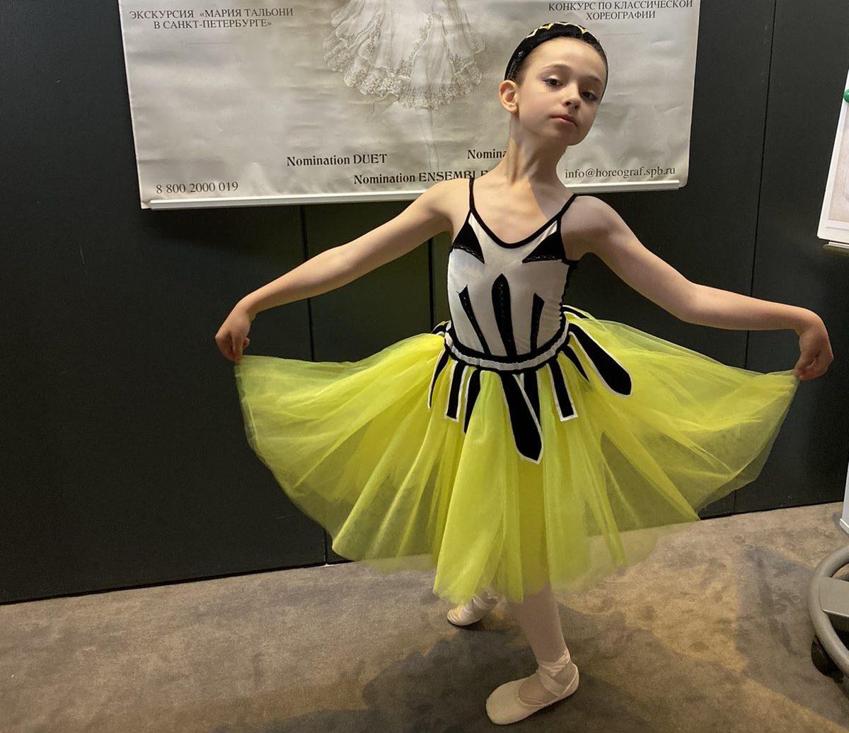Юная балерина из Брянска Майя Ларина победила во Всероссийском конкурсе