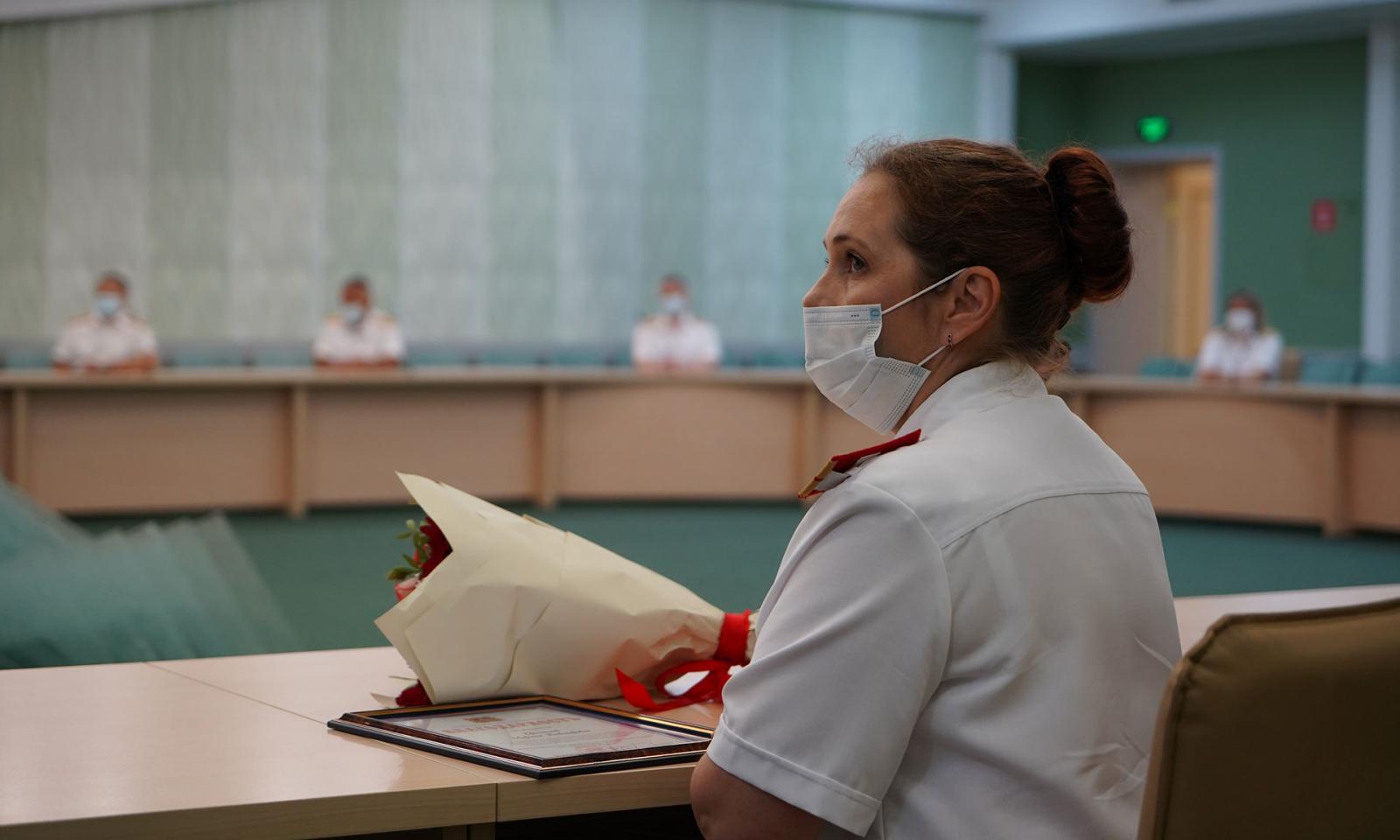 В Брянской области наградили 19 лучших сотрудников СУ СК РФ