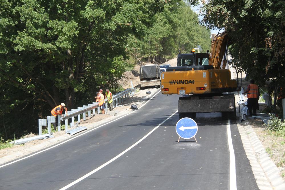 В Дятьковском районе завершился ремонт автодороги Дятьково-Любохна