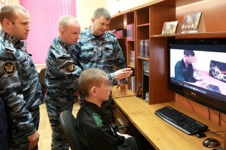 Брянские воспитанники колонии стали видеоблогерами