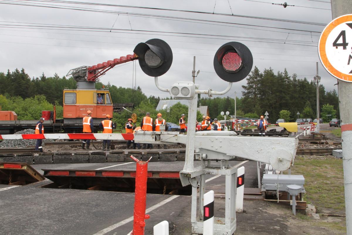 В Брянске 29 июля частично закроют железнодорожный переезд Брянск Орловский — Орджоникидзеград