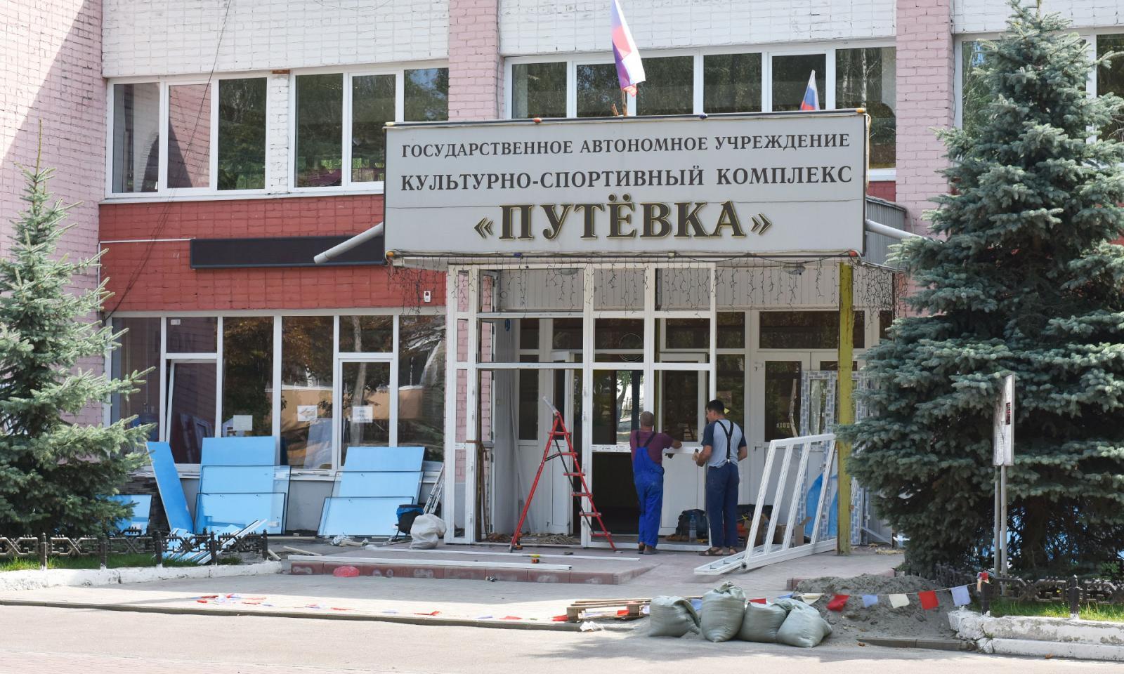 В поселке Путевка Брянского района с 1 августа возобновит свою работу бассейн