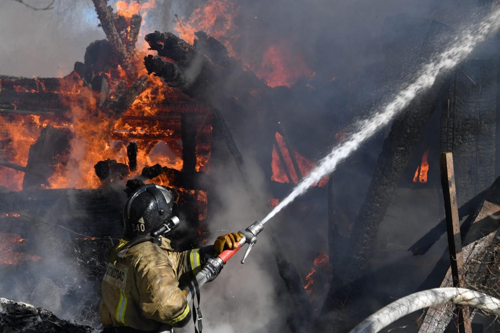 На территории Брянской области за минувшие сутки случилось 2 пожара