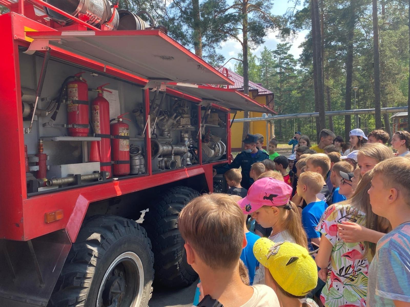 Продолжается проведение профилактических мероприятий в детских лагерях отдыха Брянщины