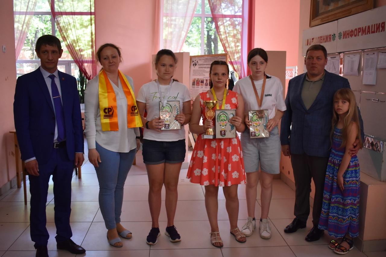 В Брянске наградили победителей Чемпионата области по русским шашкам