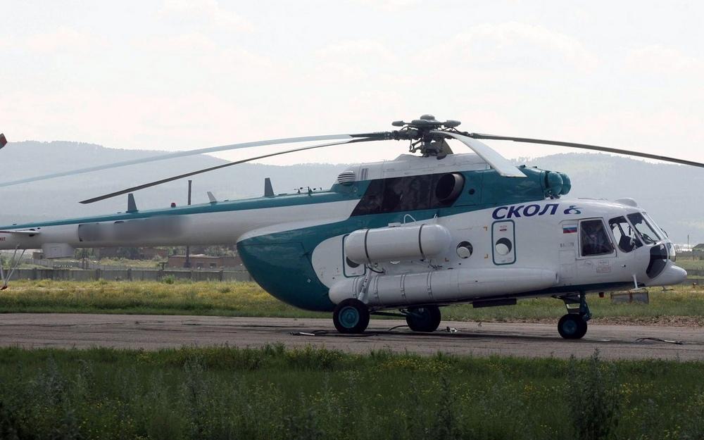 Медицинский вертолет сделал посадку в международном аэропорту «Брянск»