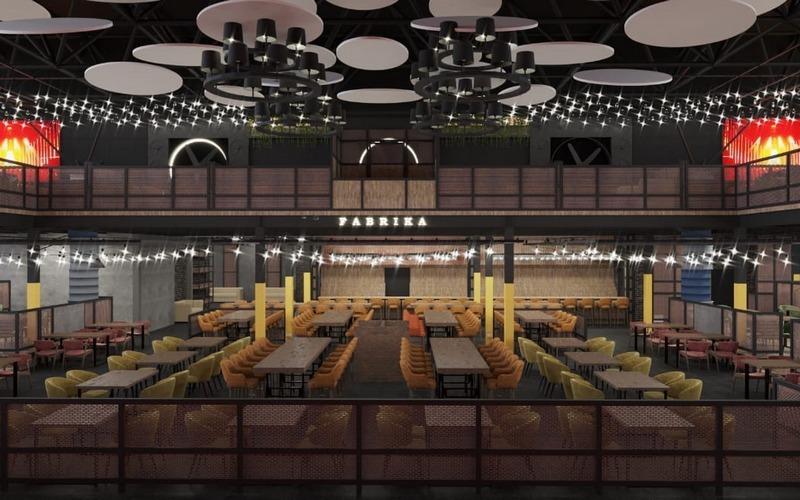 Жителям Брянска показали самый большой ресторан Fabrika изнутри