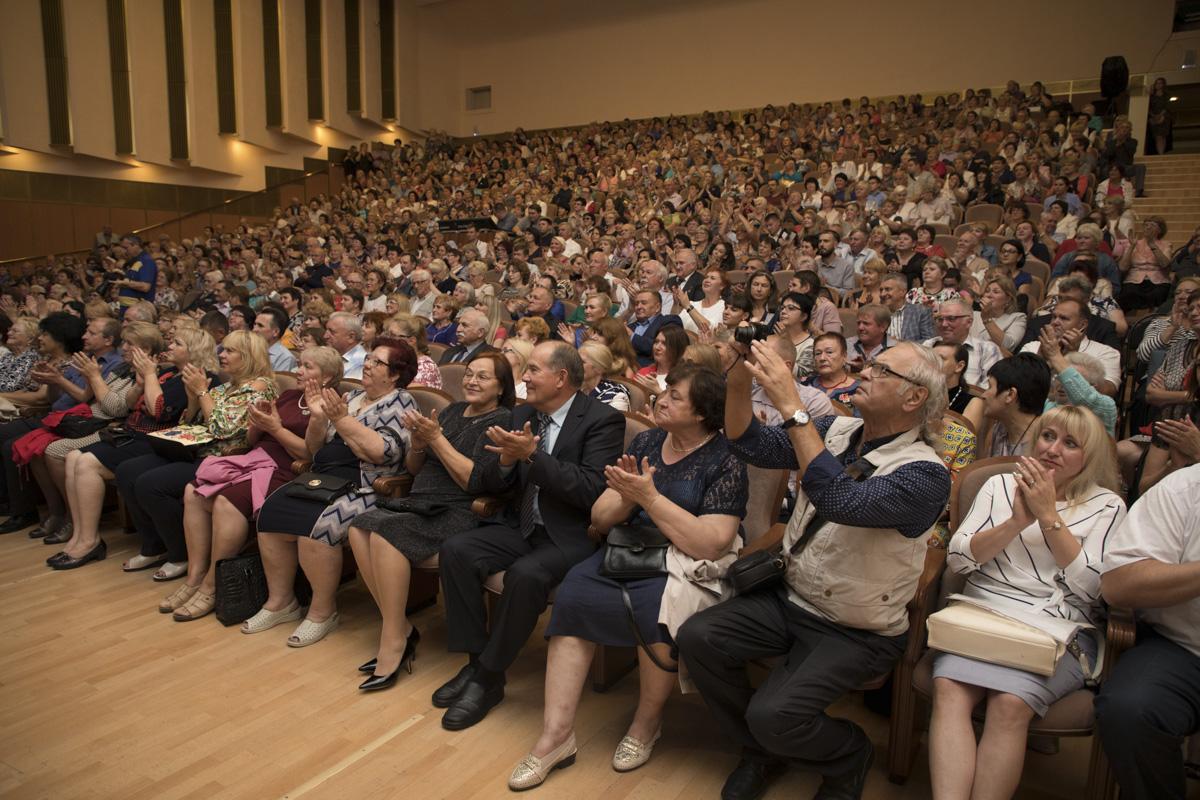 В «Дружбе» выступил Валерий Гергиев с оркестром Мариинского театра