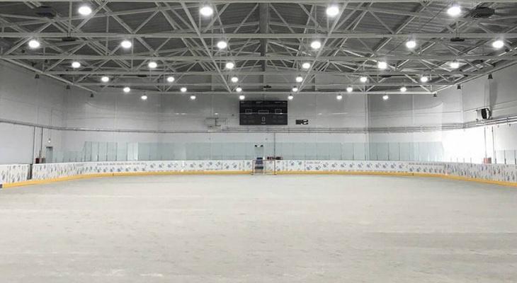 Губернатор Александр Богомаз проинспектировал строительство ледового дворца в Новозыбкове