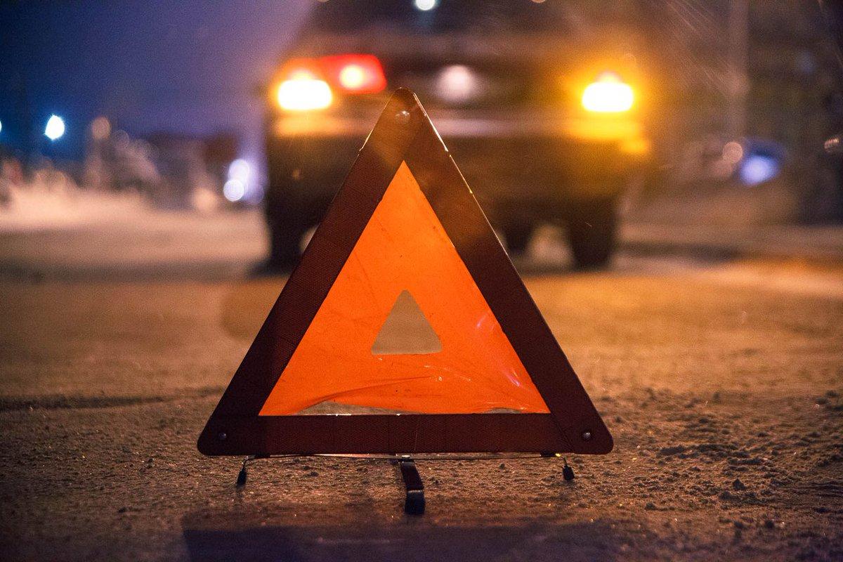На брянской трассе пьяный водитель  Audi улетел в кювет и опрокинулся