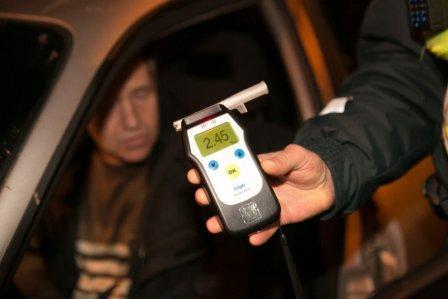 В Брянске за три дня поймали 11 пьяных автомобилистов