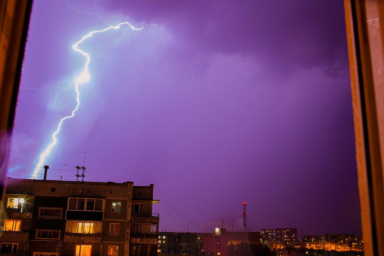 Сегодня в Брянской области ожидается гроза и дождь