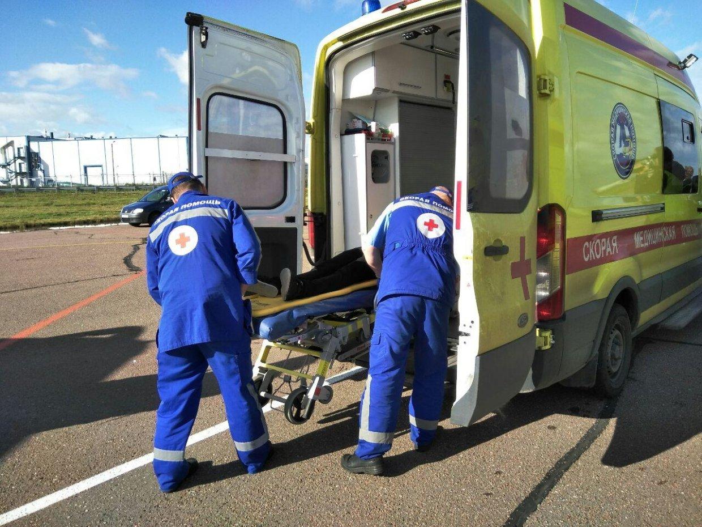 В массовом ДТП в городе Новозыбкове ранена 70-летняя женщина