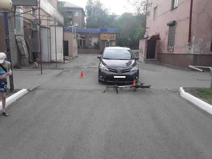 В ДТП в Гордеевском районе пострадал 9-летний велосипедист